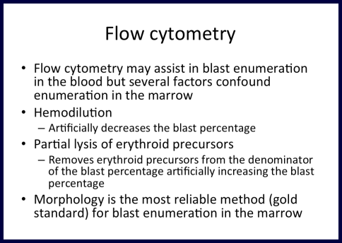 AML-Flow Cytometry